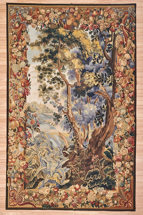 Tapestry Hoopoe Verdure 327 x 206cm