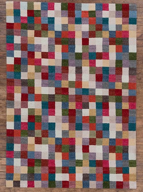 Colour Blanket Tibetan Wool 235 x166cm