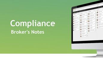 C.28 Compliance - Broker's Notes
