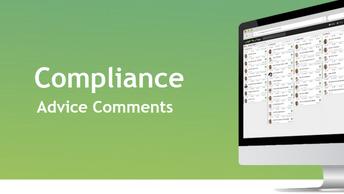 C.21 Compliance - Advice Comments