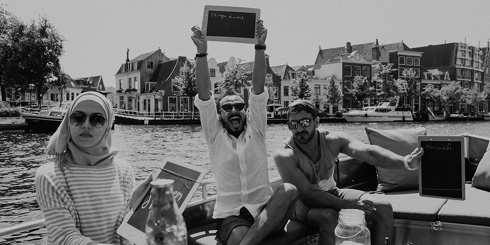 Dutch on a boat • zondag 19 sept • 11:30 uur • €5
