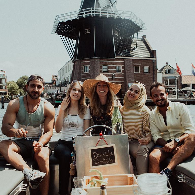 Dutch on a Boat