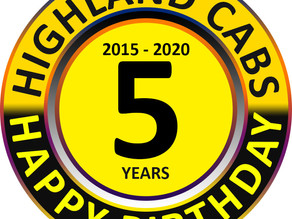 Happy 5th Birthday Highland Cabs