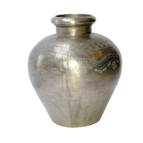 Large Pewter Vase