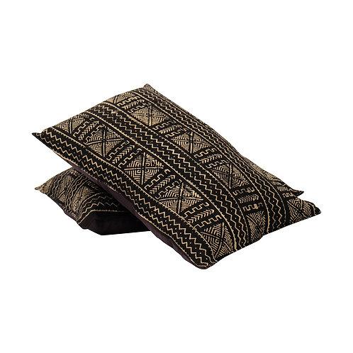 Cushion BOGOLANFINI TEXTILE (MUD CLOTH) LRG (Black)