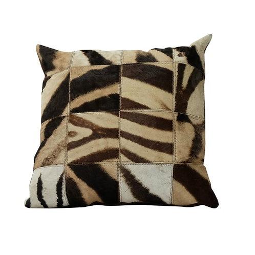 Stunning Genuine Zebra Hide Cushion