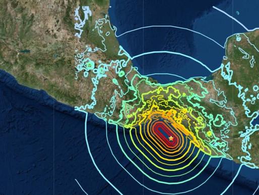 2017 earthquake off Mexico broke through an entire tectonic plate