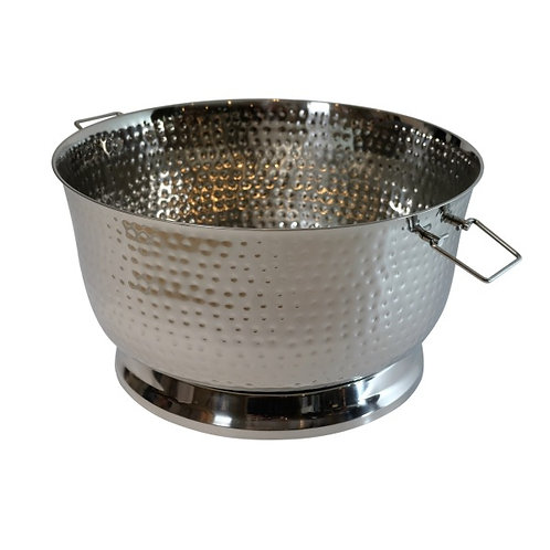 Extra Large Hammered Champagne Tub