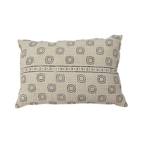 Cushion BOGOLANFINI TEXTILE (MUD CLOTH) LRG (White)