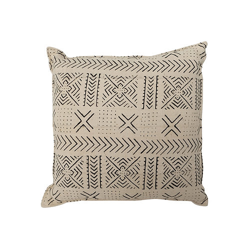 Cushion BOGOLANFINI TEXTILE (MUD CLOTH) STD (White)