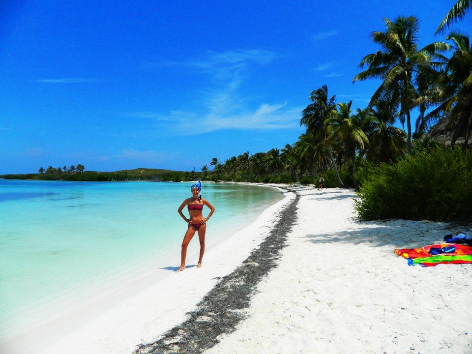 Jen at Isla Contoy