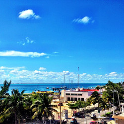 View from Hotel Paraiso Mexicano