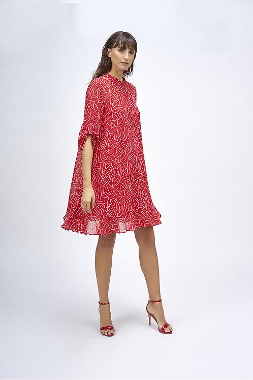 Vestido camisero always red MdeMiguel