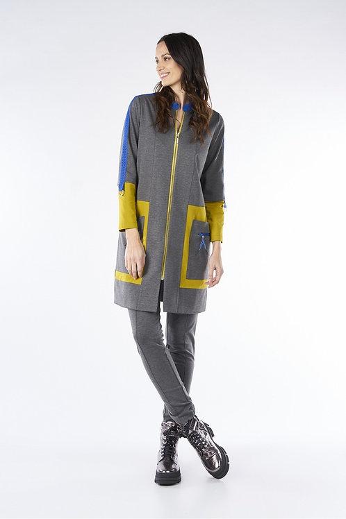 Vestido abrigo mostaza MdeMiguel