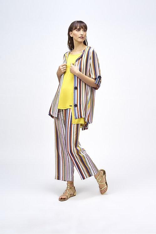 Pantalón rayas multicolor MdeMiguel