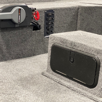 Tackle Center In Front Seat Box