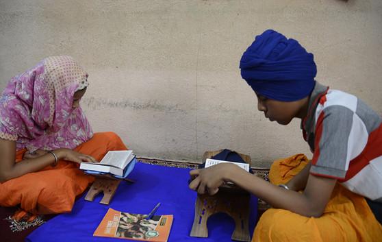 Hazur Sahib Santhia Students