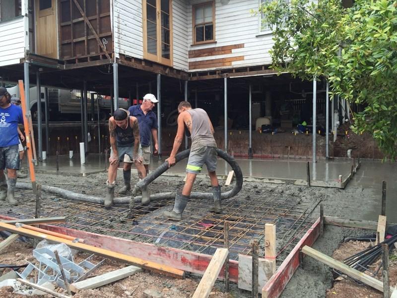 concretors working