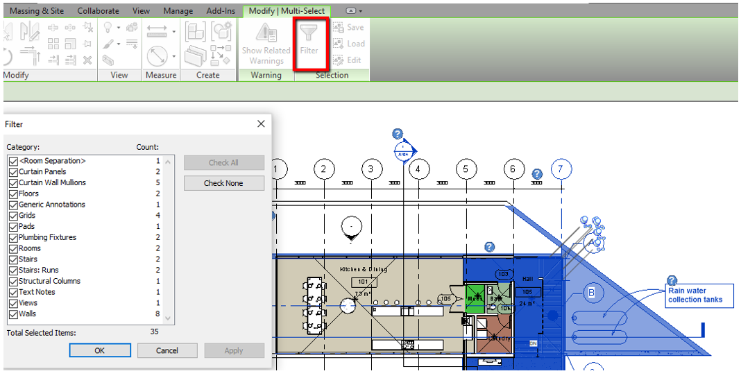 Filter for Selection Precision | Revit Consultant | BIM Optimized