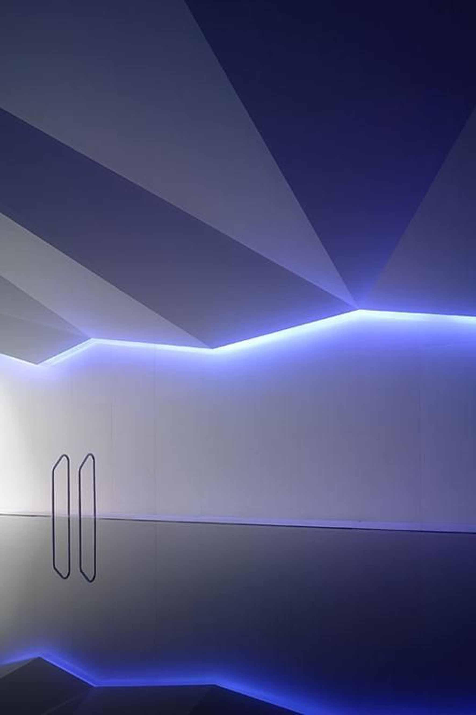 modern pool design lights