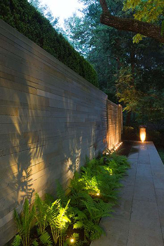 top LED lighting for garden