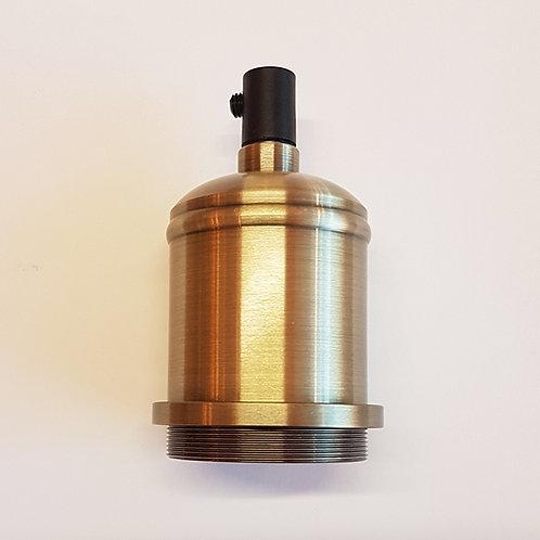 Antique Bronze E27 holder