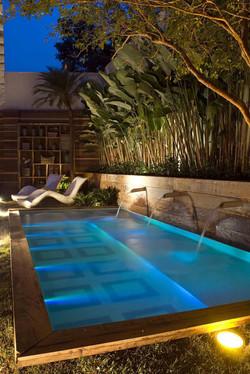 bahrain pool lighting