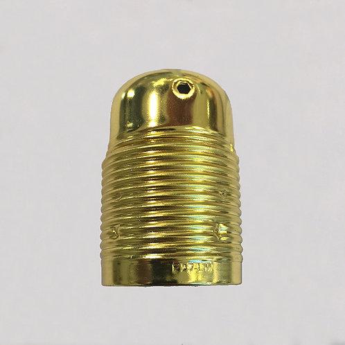 Gold E27 holder