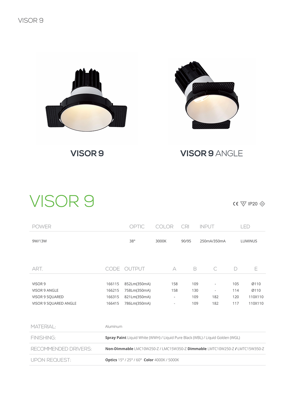 visor 9 led made in bahrain