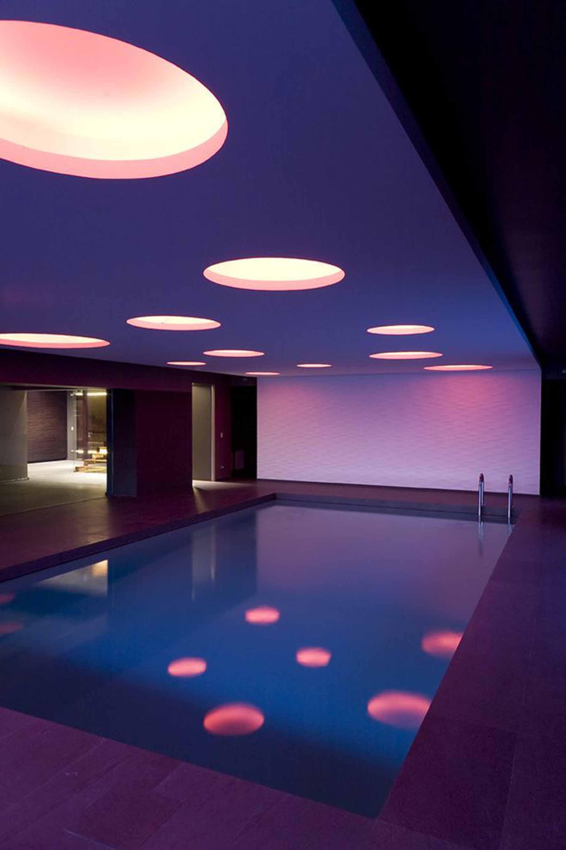 awesome  pool lighting