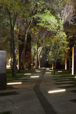 UAE garden lighting