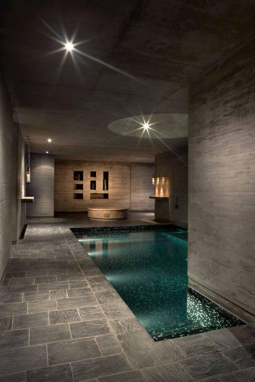 indoor pool lighting
