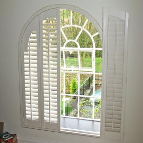 hinged window shutters