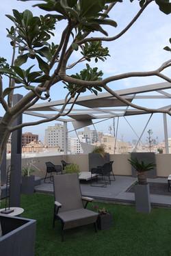Terrace design in Bahrain