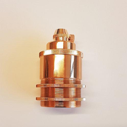 Rose Gold E27 holder