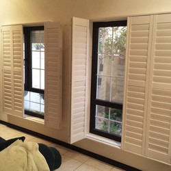 wood shutters in GCC