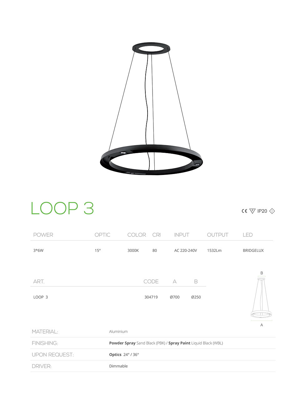 loop 3 led made in bahrain