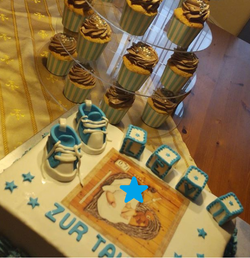 Taufe Cupcakes