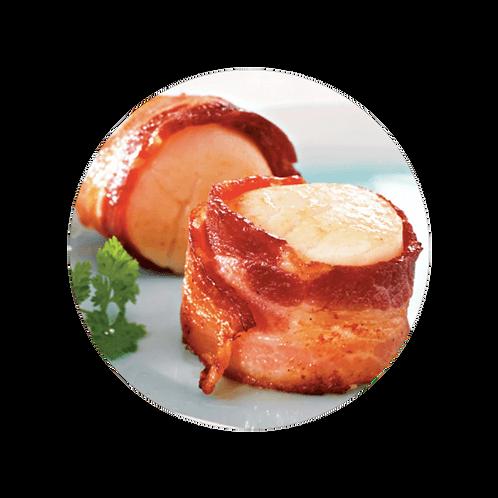 Frozen Bacon Wrap Scallops