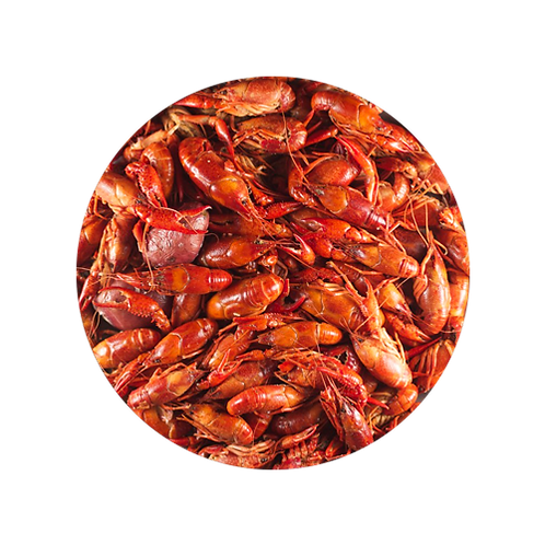 Cooked & Spiced Crawfish