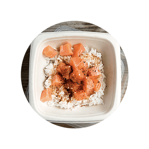 Poke Bowl Smoked Salmon