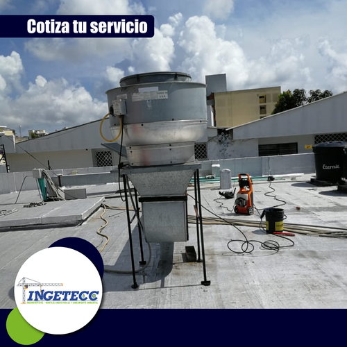 Mantenimiento preventivo campana extractora y hongo de extracción ⚙️✅