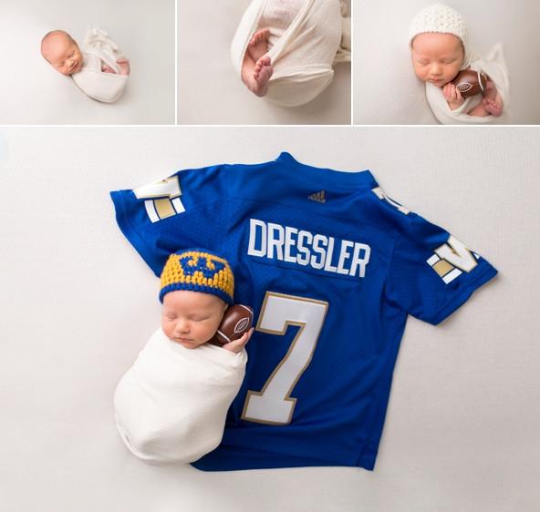 One week old football fan
