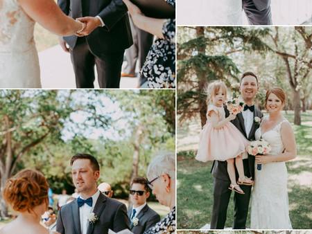 Wedding Ceremony @ Wascana Gazebo