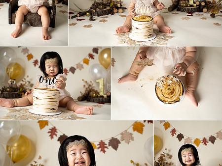 Autumn Boho Cake Smash