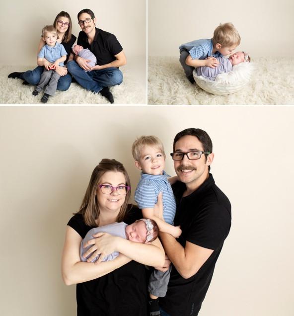 Newborn Baby Photography Family