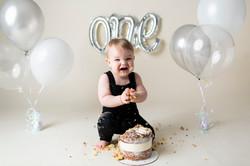 First Birthday Cake Smash Regina