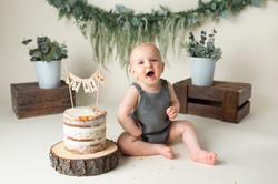 Regina Boho Cake Smash Photography
