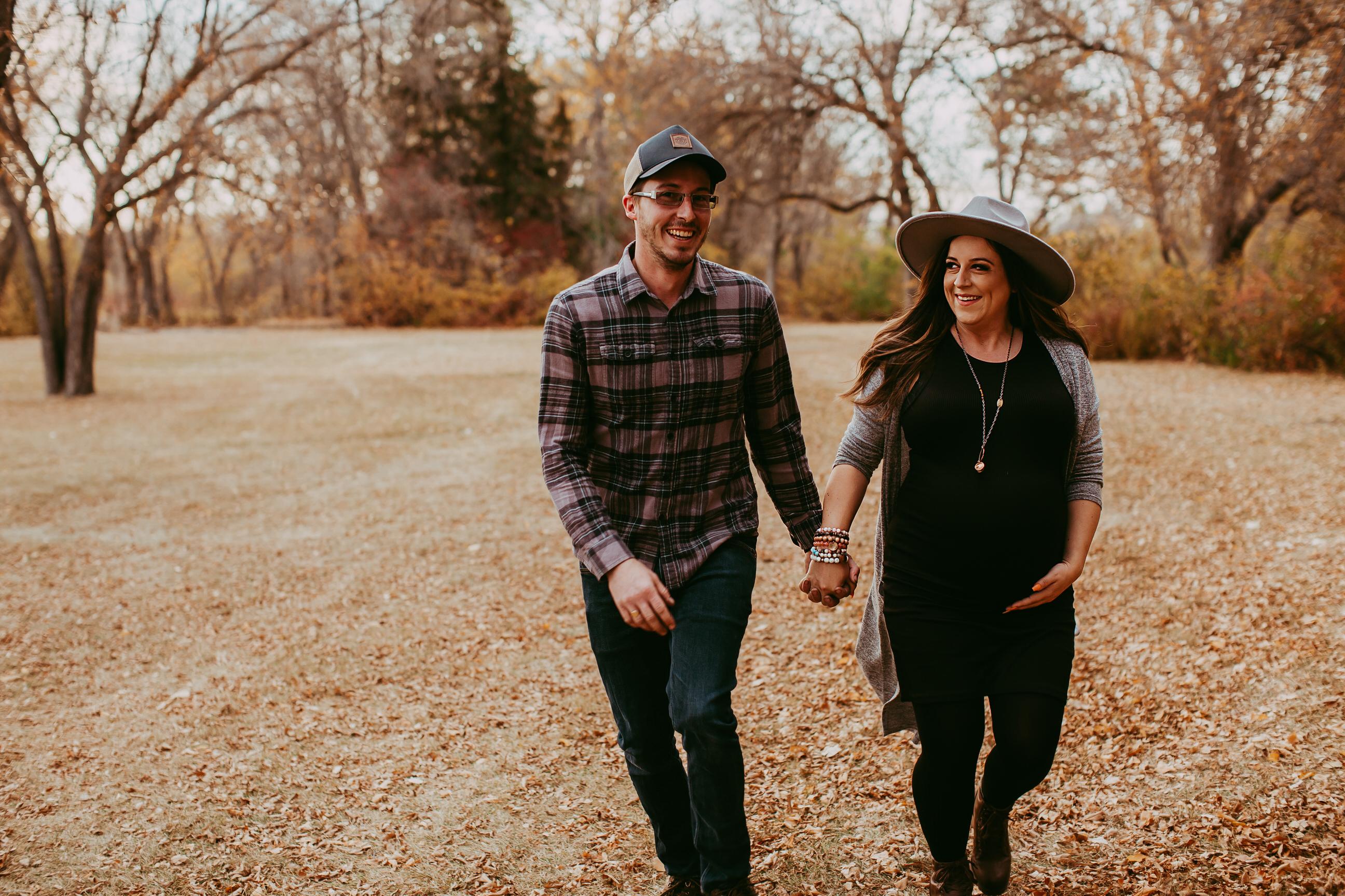 Regina Fall Photos Maternity