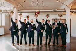 Regina Space on Dewdney Wedding
